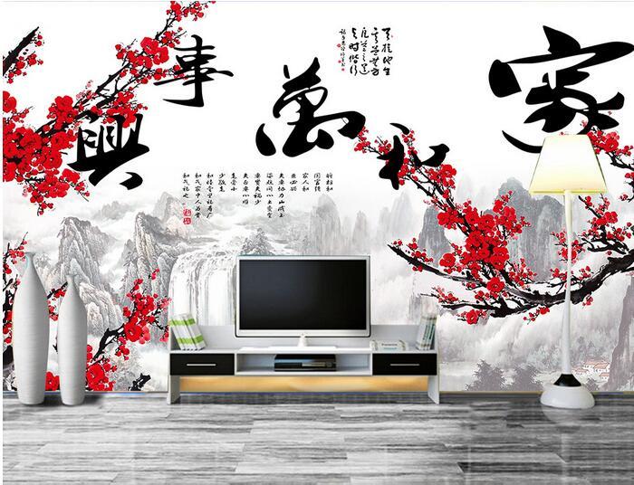 ᐃ3D papel pintado personalizado mural no tejido 3D sala de papel ...