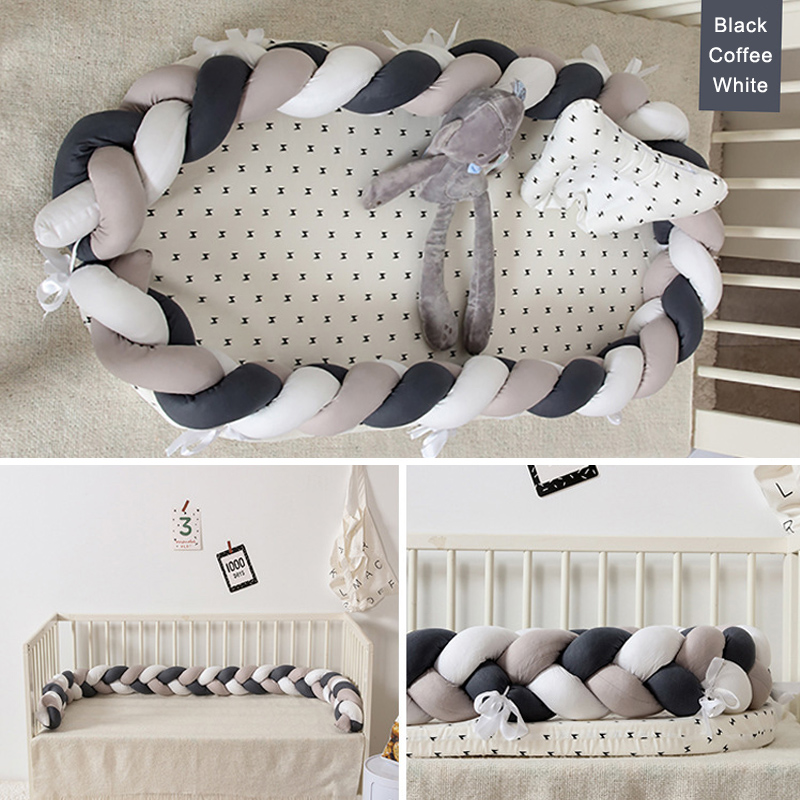 Portabel Baby Nest Bed Newborn Bed Crib Shatter-resistant Baby Mat Removable Washable Sleeping Artifact Bed Bumpers