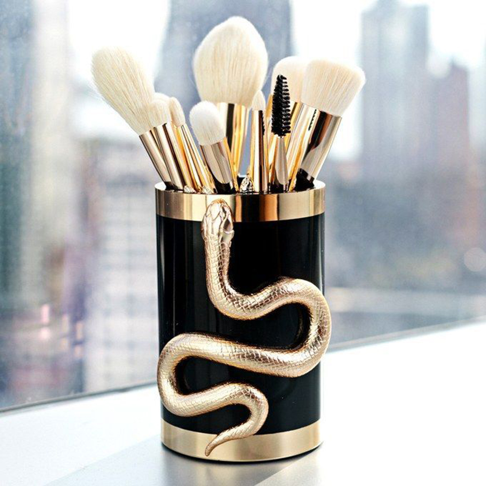 Vander 10Pcs/set Makeup Brushes Foundation Concealer Eyeshadow Eyeliner Lip Blending Make Up Maquillage & Makeup Brush Bucket new arrival brand fountain pen luxury school office writing supplies good quality fountain pen ink free shipping hot sell yi33