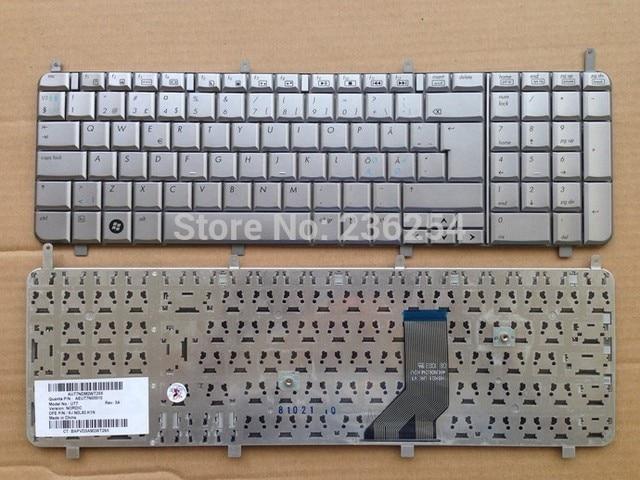 New ND Nordic Keyboard for HP Pavilion DV8 dv8-1000 dv8-1100 HDX18 X18 Model UT7 Laptop Keyboard