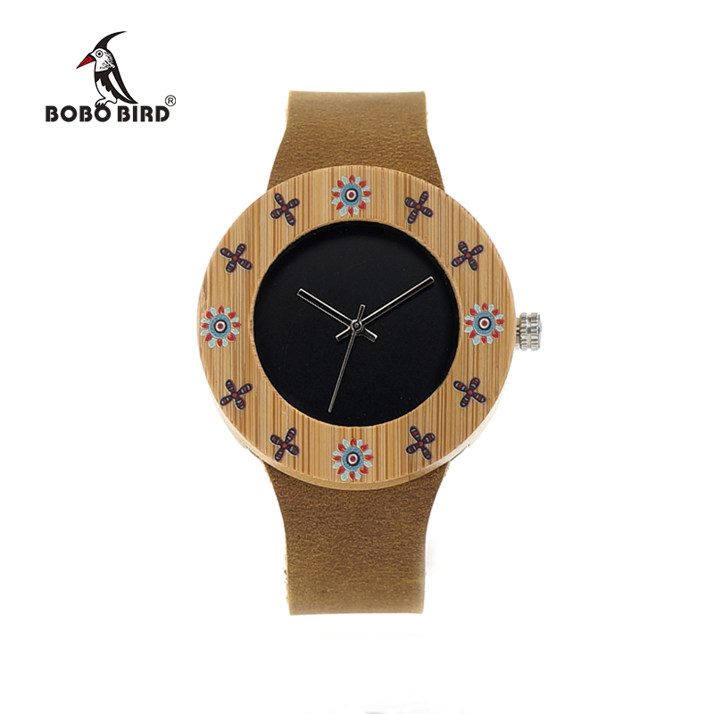 a331b078e0d BOBO BIRD Women s Watches Bamboo Wristwatches for Ladies Japan Movement  Quartz Bracelets Watch Gifts relogio feminino