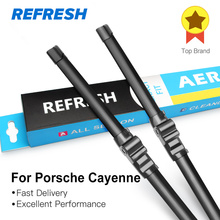 REFRESH Щетки стеклоочистителя для Porsche Cayenne S GTS Turbo Fit Боковые штифты Модель Год выпуска С 2002 по год