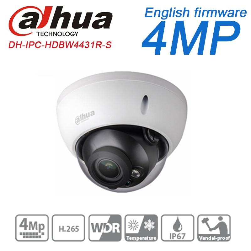 bilder für Dahua H.265 4MP ip-kamera PoE Injector IPC-HDBW4431R-S ersetzen IPC-HDBW4421R-S IK10 IP67 SD slot cctv überwachungskamera