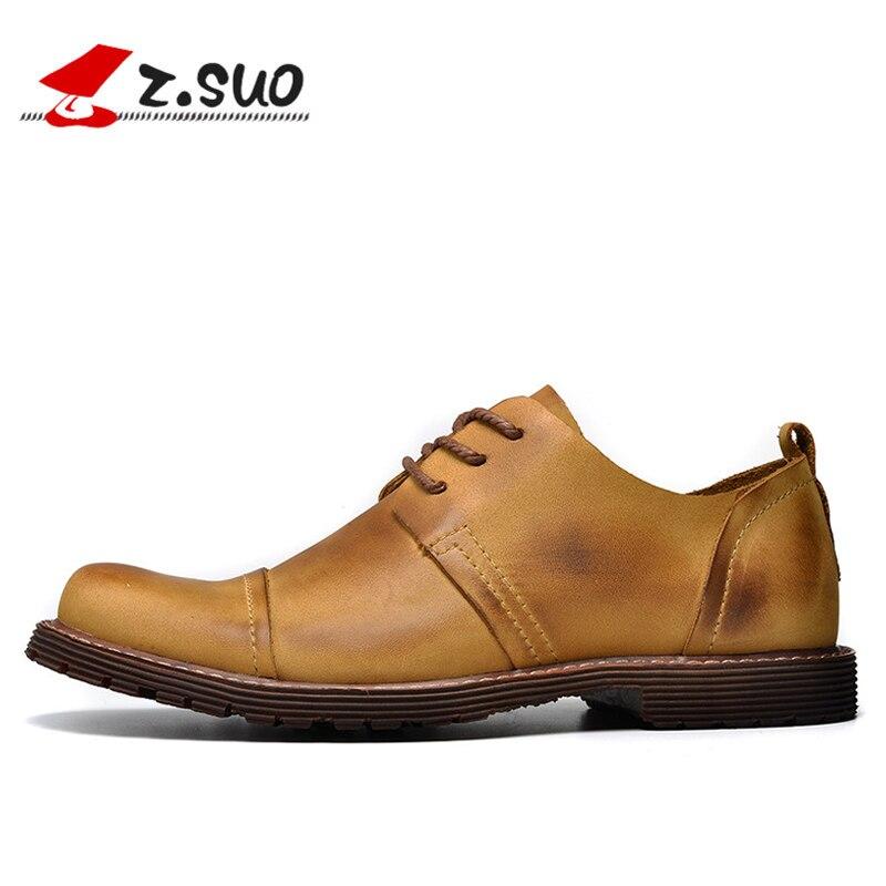 Recién Llegado de Cuero Genuino de Los Hombres de Moda Zapatos Casuales para Lo