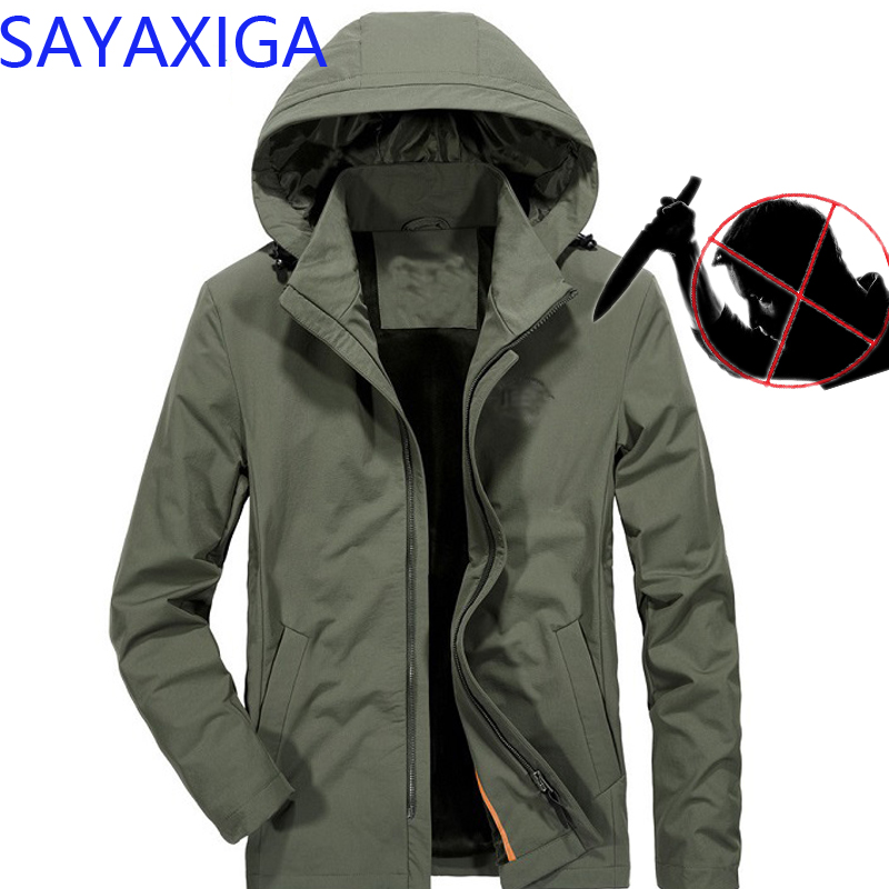 Self Defense Tactical Anti Cut Knife Cut Resistant Denim Jacket Anti Stab Proof Cutfree Stabfree Military Security Jeans Coat 2019 Latest Style Online Sale 50% Back To Search Resultsmen's Clothing