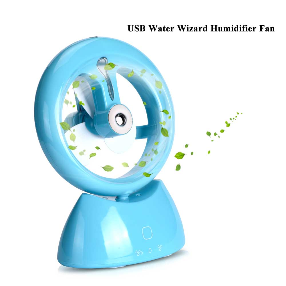Mini Water Mist Fan Spray Water Air Cooling Fan Ventilador Handheld Table Fan Rechargeable USB Charging For Home Office air humidifier with night light mini fan usb rechargeable water mist fan air conditioner fan office home table pedestal cooling