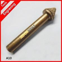 A10 6*10*7 мм конический камень cnc инструменты для 3d глубокого