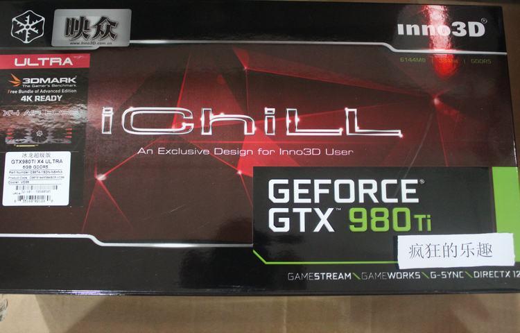 used GTX980Ti Ultra Super Ice Dragon game video card
