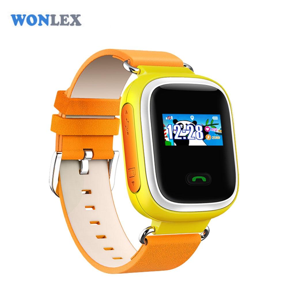 Cheap Wonlex Color Sreen GSM GPS Tracker Watch Children ...