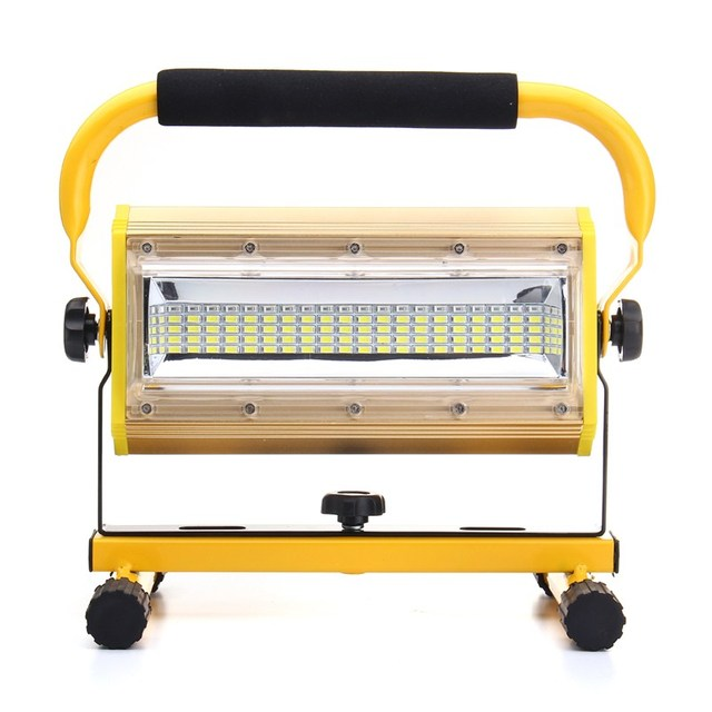 3 Colors Rechargeable 100w Portable Led Floodlight Work Light 100 Spot Flood Working Camping