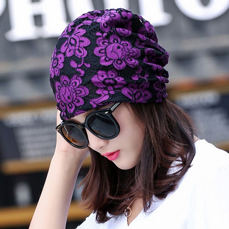 Hats Maam Spring And Summer Korean Fashion Set Head Cap Hip Hop Hat Baotou Confinement Hat Chemotherapy Hat