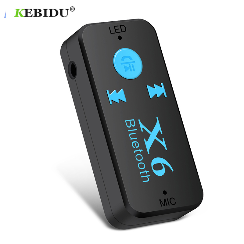 US $2.01 21% OFF|Kebidu Bluetooth Adapter Receiver 3 in 1 Wireless USB Bluetooth 5.0 Receiver 3.5mm Audio Support TF Card MIC For Car Speaker-in Wireless Adapter from Consumer Electronics on Aliexpress.com | Alibaba Group
