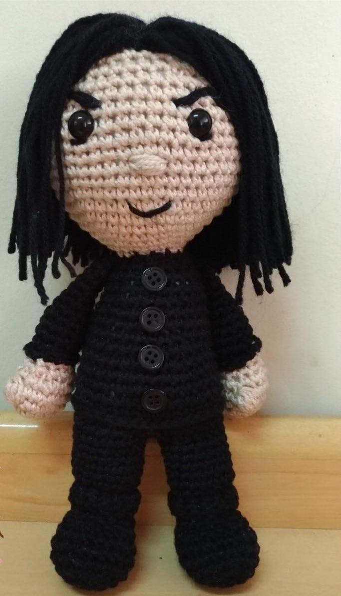 Crochet  Amigurumi Doll Girls Stuffed Doll Professor  Model Number 19061701