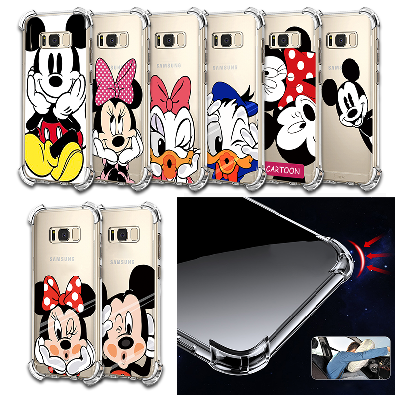 Couple Cover For Samsung Galaxy Note 8 9 S7 Edge S8 S9 S10 Lite Plus S10e A3 A5 A6 A6s A7 2017 A8 A9 Star Pro J4 J6 J8 2018 Case