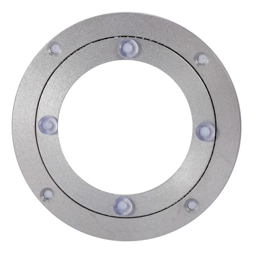 Поворотный Подшипник мебель тяжелых алюминиевый сплав вращающийся подшипник проигрывателя круглый обеденный стол гладкой поворотные пластины
