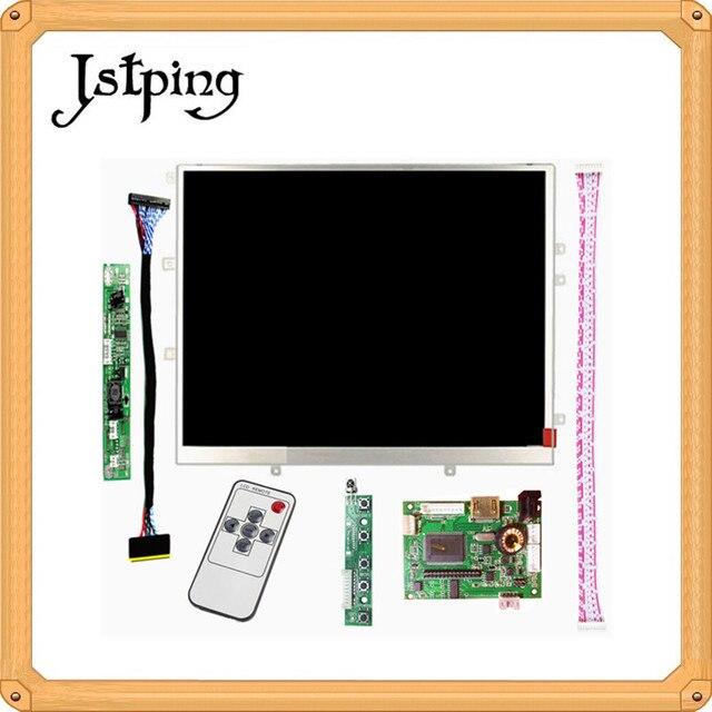 Jstping 9,7 pulgadas para ipad LCD HD pantalla controlador Control LVDS tablero remoto HDMI VGA AV alta definición para raspberry Pi 3