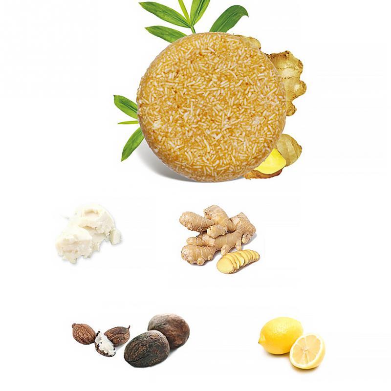 Champú natural (romero, jengibre o multiflorum)