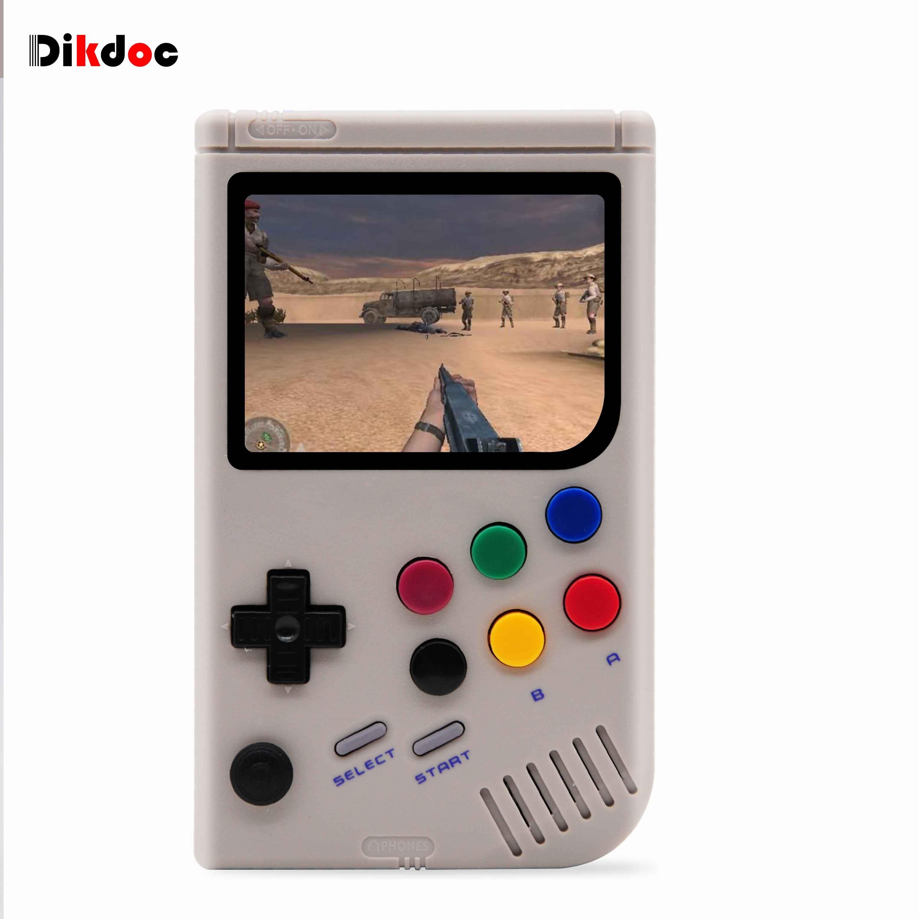 Retro Video Console di Gioco da 3.5 pollici Raspberry Pi 3 A + LCL-Pi Arcade Per Game Boy Console Portatile giocatore del gioco Built-In 6000 Giochi