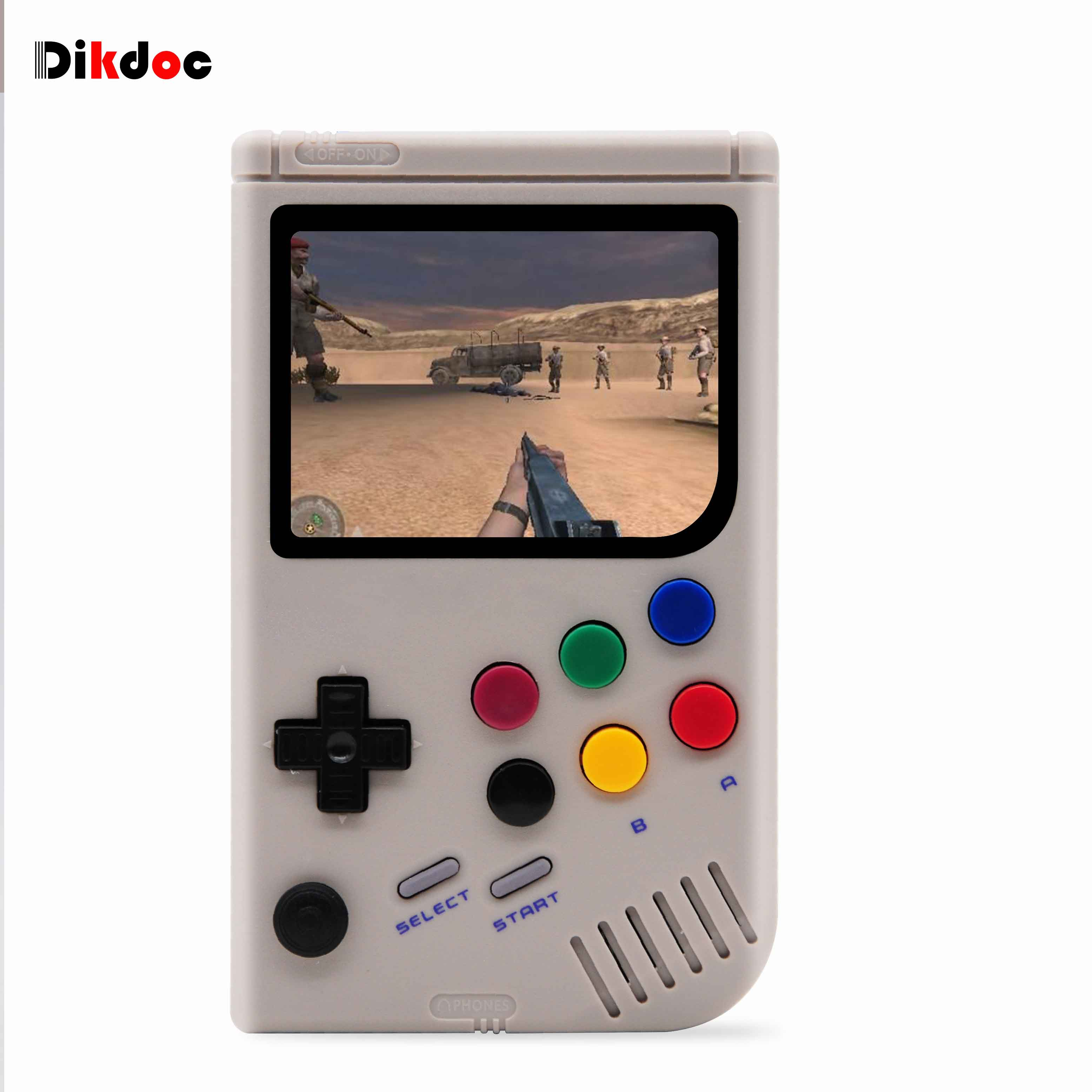 Retro Video Game Console 3 5 inch Raspberry Pi 3 A+ LCL-Pi Arcade For Game  Boy Console Handheld Game Player Built-in 6000 Games