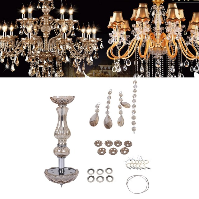 Modern Design Home Living Room Crystal Ceiling Light 6 Light Lamp Home Decorative Lamps Light Free Shipping