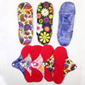 Bamboo Cotton Cloth Menstrual Pads Reusable Feminine Sanitary Pad Napkin Breathable Washable Soft Pad Panty Liners 23x23cm