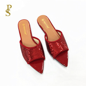 Image 4 - Shiny shoes flat shoes womens shoes ladiess shoes