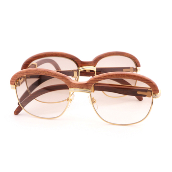 Wooden Sunglasses  Retro Shades Eyewear 1
