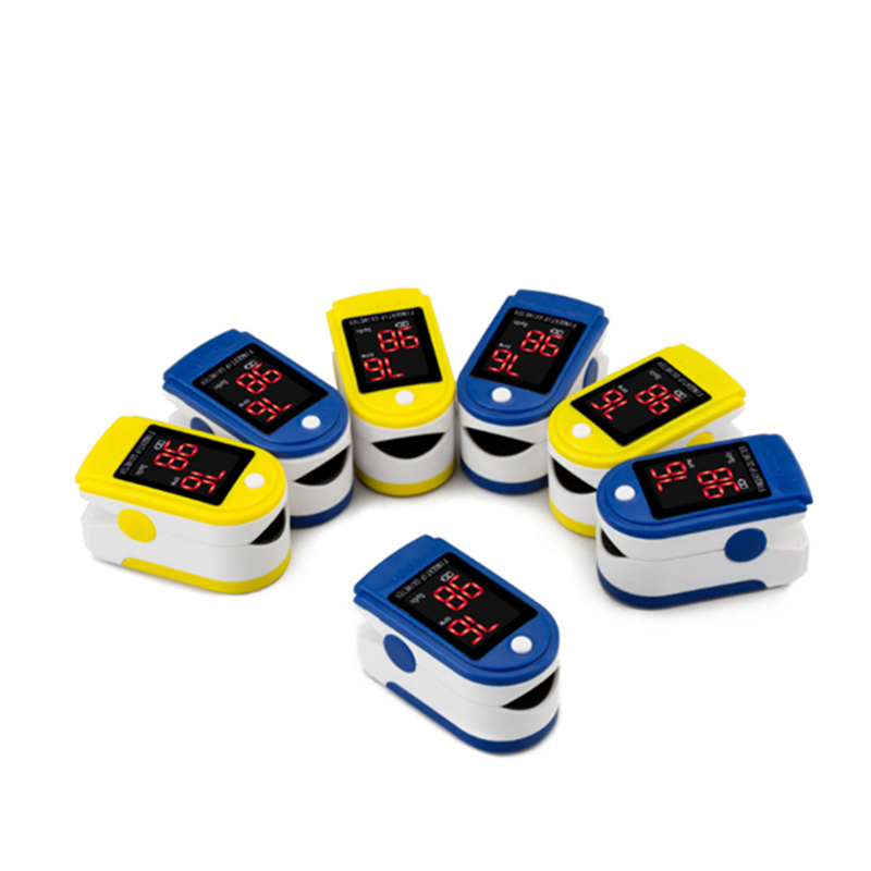 Cor quente display led dedo oximetria de pulso oximetria spo2 saturação oximetro monito pressão arterial medidor de freqüência cardíaca portátil