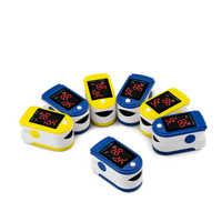 HEIßE Farbe Finger oxymetrie pulsoximetrie SpO2 Oximetro Monito blutdruck herzfrequenzmesser tragbare