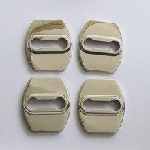 Stainless Steel Car Door Lock Protective Cover For KIA Sportage Optima Sorento K2 K3 K4 K5 KX5 DoorLock Anti Rust