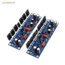 New 2 Channel L150W 200W MOSFET IRFP250*12 FET Power amplifier finished board