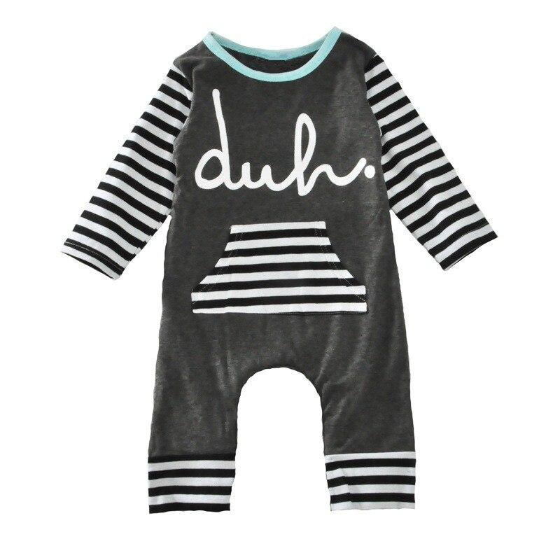 5d5675494cc3 Baby Rompers Boys Girls Newborn striped Romper Letter Cotton Jumpsuit  Infantil Christmas roupas de bebe overall clothes ins hot