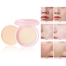 2019 Natural Face Pressed Powder Mineral Foundations Bronzer Highlighter Brighten Concealer Palette Contour Whitening
