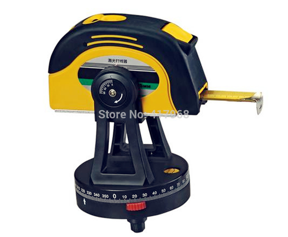 ФОТО Laser Measure Tool Laser Vertical Line Infrared Level Laser thread Foot level 5m Widening Steel Tape 3 Line 1 Point