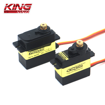 Kingmax KM0940MD KM0950MD Metal Digital Servo núcleo de hierro impermeable 13g/17g dirección timón para aviones RC ala fija DIY aníbal malvar ala de mosca