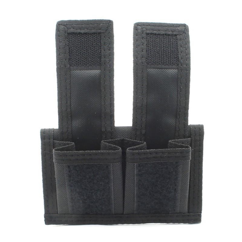 Hunting Double Speed Loader Belt Pouch Tactical Speedloader Case Holder Universal Fits 22 Mag Thru 44 Mag