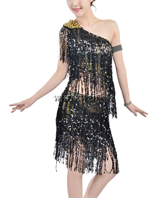 134cf4eedbf 1920s Gatsby Inspired Style Prom Party Outfits Dresses Attire Costumes  Rivet Sequin Tassel Two Piece 1920 s