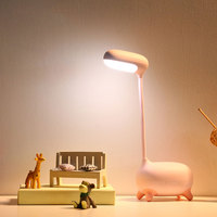 Creative Cute Deer LED Table Lamp USB Rechargable Read Study LED Desk Light Adjustable Eye Protection Desk Lamp Kids Gift MY|Book Lights| |  -