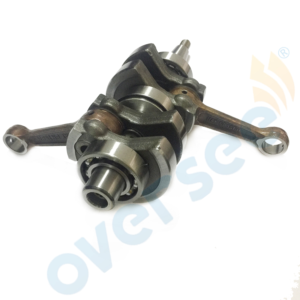 15HP 63V-11400-01 CRANKSHAFT ASSY For 2 Stroke 9.9HP 15HP Yamaha Outboard Engine Parsun Hidea 63V-11400
