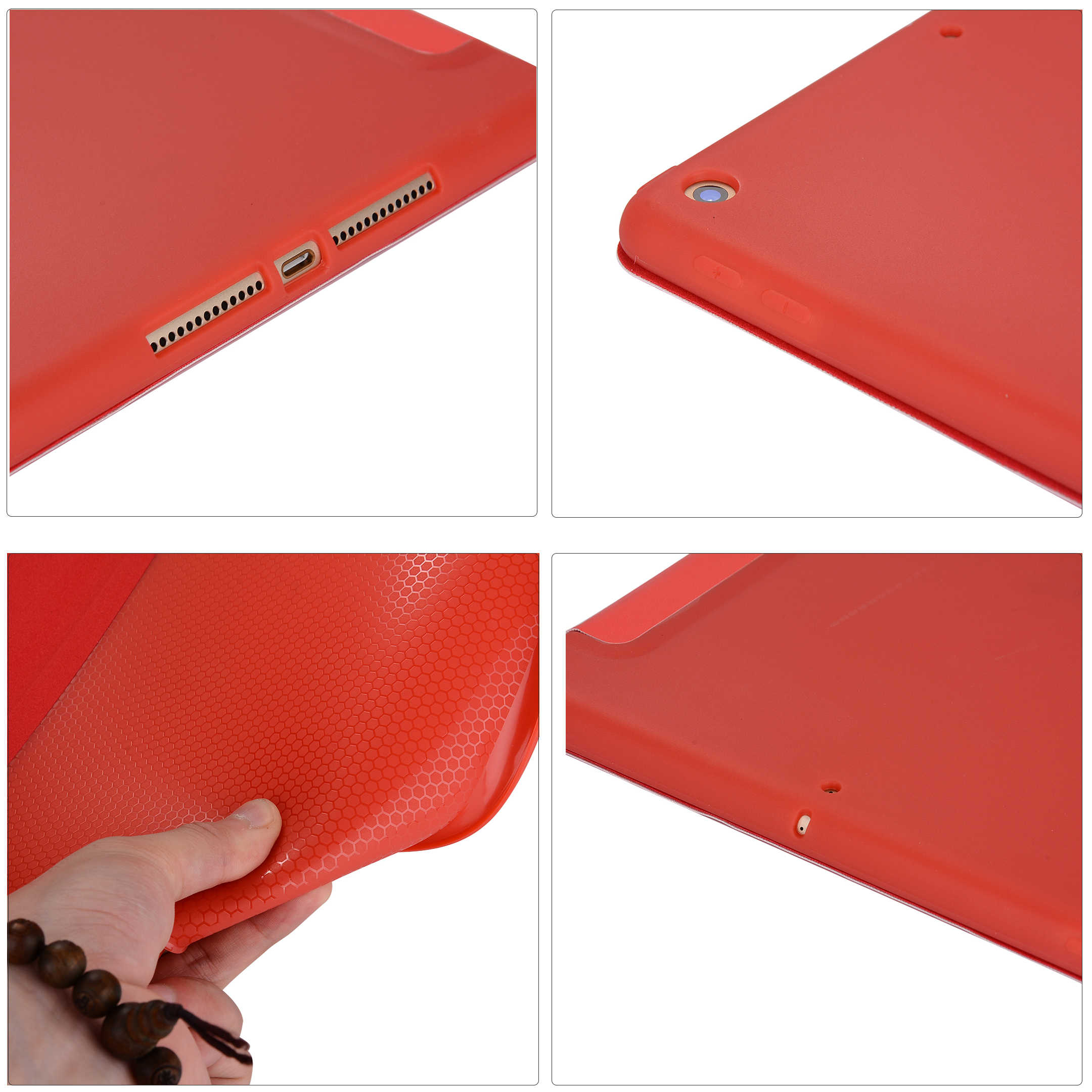 Rovtop Case Cover Voor Ipad 9.7 Air 2 Air 1 Pro 10.5 Case Silicone Soft Leather Smart Case Cover Voor 2017 2018 Generatie Funda