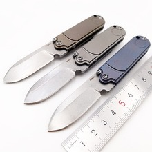 JSSQ Pocket Folding Knife S35VN Blade Titanium Handle Mini Outdoor Camping Knives Survival Hunting Tactical Utility EDC Tools цена и фото