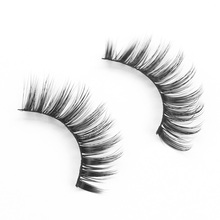 Genailish 2pairs Faux Mink Makeup Fake lashes False eyelashes Beauty Extension Thick Eyelash Eyelashes FX839-2