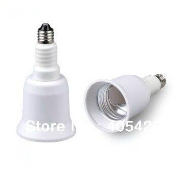 Ampoule Led halogène (CFL) E11 à E26 convertisseur adaptateur de support de lampe, 30 pcs/lot livraison gratuite