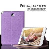 For Samsung Galaxy Tab A 8 0 SM T350 T351 T355 Luxury Stand Folio Flip PU