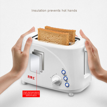 Toaster Home Breakfast Spit Driver  Mini Automatic Toaster Baking Machine 220V 5