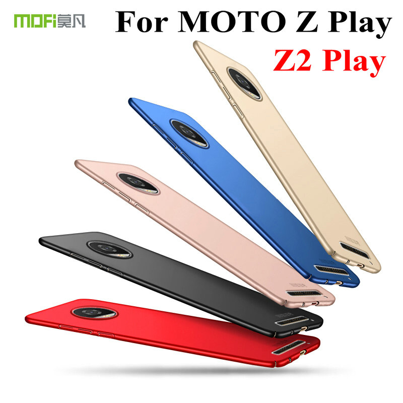 Original MOFI Hard PC Matte Fundas Back cover For MOTO Z Play / Z2 Play Full Protective Ultra Thin Slim Shell Case Capas