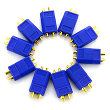 10 Pairs/pack XT60 Male & Female Bullet Connectors Plugs for RC Motor Lipo Battery Quadcopter Multicopter(Blue)