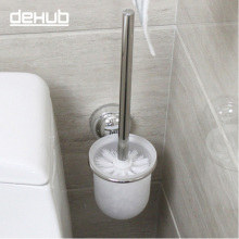 Free shipping Stainless steel 304 suction toilet brush holder toilet brush set bathroom accessories цена