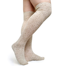 New Style Fashion Thick Winter Long socks for Mens Sexy Dress suit Warm Socks Stocking Over Knees High quality Brand Male