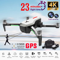 SG906 Дрон GPS 5G wifi FPV 4 K hd камера Дрон бесщеточный селфи складной Радиоуправляемый Дрон дроны вертолет бесплатная сумка подарок Квадрокоптер